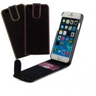 Etui de téléphone en cuir - ouverture verticale