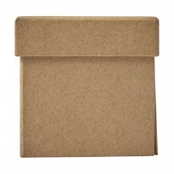 Étui en carton contenant des papiers repositionnables