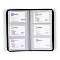 Etui porte-cartes personnalisable en cuir d'une capacité de 72 cartes