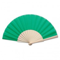 Classic fan with wooden handle