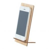 Support de téléphone publicitaire en bambou