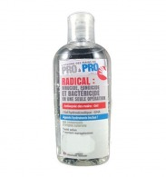 Flacon de gel hydroalcoolique à clapet 100 ml