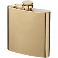 Flasque publicitaire dorée 175ml