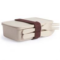 Boîte repas avec couverts