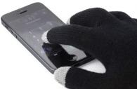 Gants munis de 3 embouts pour écran tactile