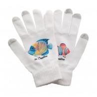 Paires de gants avec logo