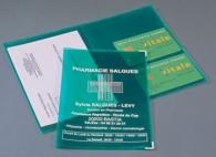 Pochettes et protège-documents publicitaire