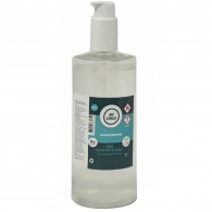 Customizable hydroalcoholic gel - 500ml bottle with pump