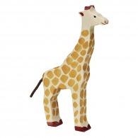 Girafe personnalisée en bois 23cm