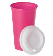Mugs et gobelets à couvercle avec marquage