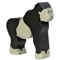 Gorille logoté en bois 10cm