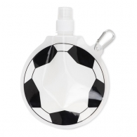 Gourde pliable ballon de foot 500 ml