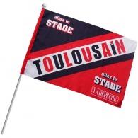 Grand drapeau personnalisable en tissu a3
