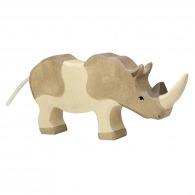 Grand rhinocéros en bois 19cm