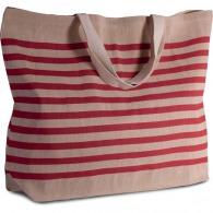 Grand sac personnalisé fourre-tout en juco - Kimood