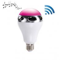 Ampoules avec haut-parleur publicitaire