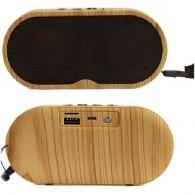 Enceinte personnalisable sans fil en bois 3W