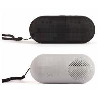 Altavoz Bluetooth con acabado de goma