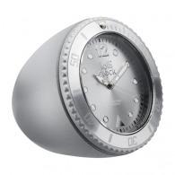 Horloge logotée lolliclock-rock matt silver