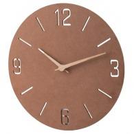 Horloge murale personnalisée en bois