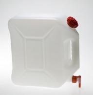Jerrican alimentaire 20 Litres avec robinet Polyéthylène 38 x 17 cm x 38 cm