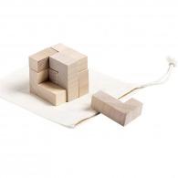 Cube en bois 7 pièces