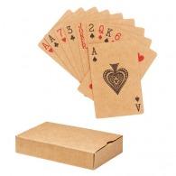 Jeu de cartes en papier recyclé