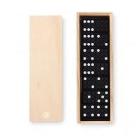 Jeu de domino dans une boîte