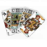Fully customized tarot deck