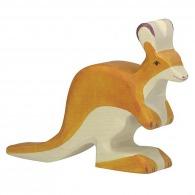 Kangourou en bois