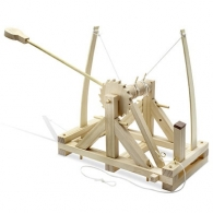 Kit de construction reflects-leonardo da vinci catapult