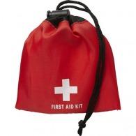 Kit de premiers secours publicitaire dans une pochette en nylon