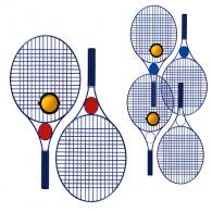 Kit de tennis personnalisé Colour Pro avec champ publicitaire