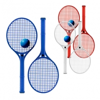 Kits raquettes de tennis et balles en mousse personnalisé
