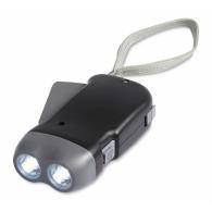Lampe dynamo personnalisable à led