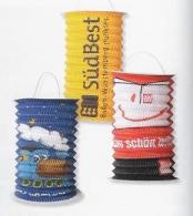 Lampion personnalisable cylindrique en papier