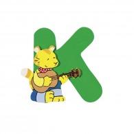 Lettre k en bois
