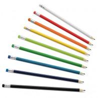 Lot de 12 crayons à papier logotés (livrés non taillés)
