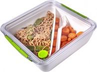 Boîte déjeuner publicitaire 90cl compartimentée