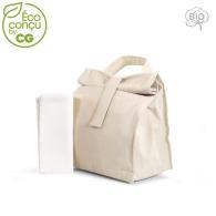 Lunchbag isotherme en coton bio