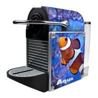 Machine à café nespresso pixie alu