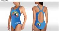 Maillot de bain personnalisé femme natation