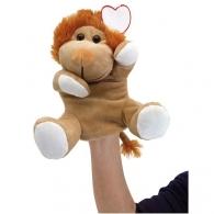 Marionnette personnalisable en peluche Lion KNOX