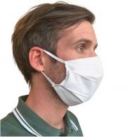 Masque blanc en coton uns1