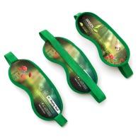 Masque de voyage personnalisable microfibre quadri