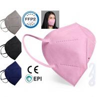 Masque ffp2 de couleur