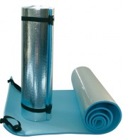 Matmouss' aluminise mousse de polyéthylène à cellule fermée 180 x 50 x 0,8 cm 50 cm (enroulé) x 14 cm