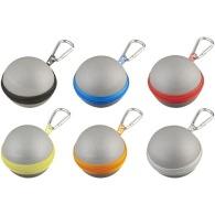Porte-clés réfléchissant personnalisé boule