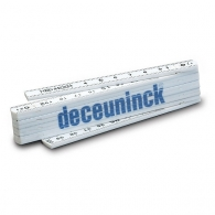 Mètres de charpentier pliables publicitaire