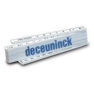 Mètre logoté pliant en PVC longueur 1 mètre